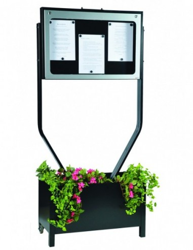 Porte menu Provence 3 pgs d/face sur...