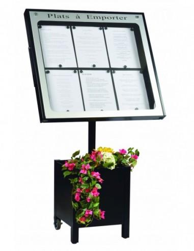 Porte menu Provence 6 pgs + pied 004020