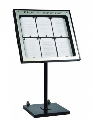 Porte menu Provence 6 pgs + pied 001930