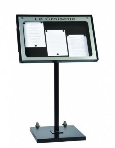 Porte menu Provence 3 pgs + pied 001930
