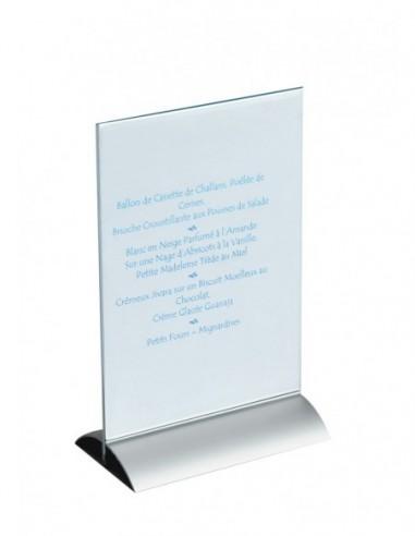 Porte menu de table pléxiglas A5