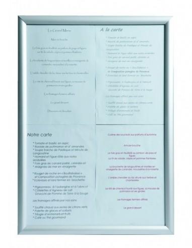 Vitrine RIVOLY 4 pgs A4