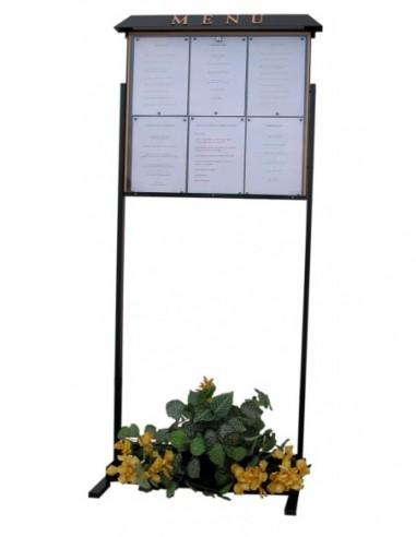 Porte menu Normandie 6 pgs s/pied...