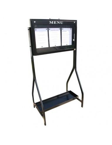 Porte menu Lubéron 3 pgs d/face -...