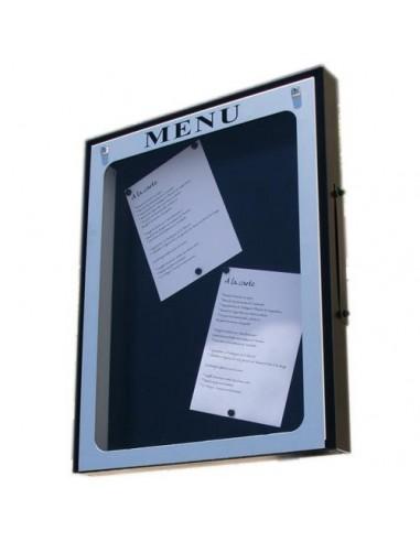 Porte menu Provence 4 pgs mural