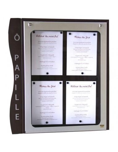 Porte menu Cevennes 4 pgs mural