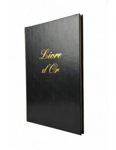 Livre d'or couverture pvc noir 148 pages