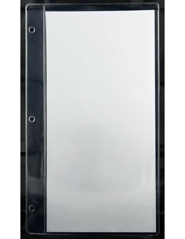 10 intercalaires Bar PVC cristal 2 vues