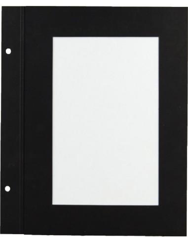 10 intercalaires A4 papier noir à...