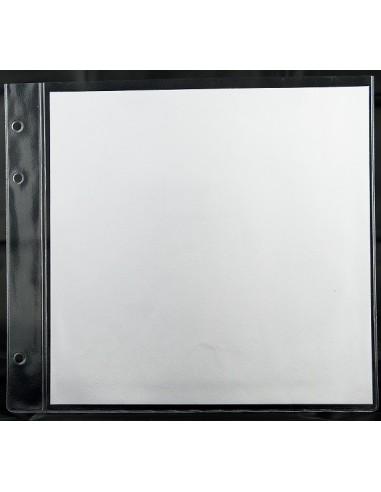 50 Intercalaires PVC 2 vues 21x21 cm