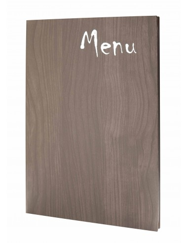 Carte de table Woodstock A4 - brun 2020