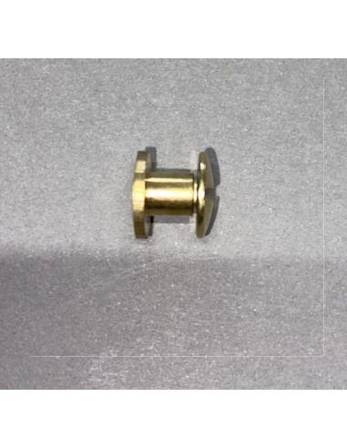 10 vis 10 mm pour cartes de table dores