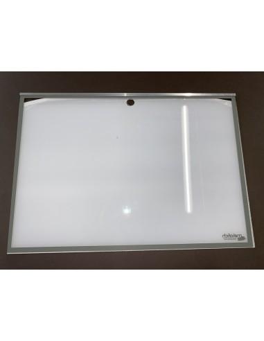 Plexiglass sans serrure 2 pages