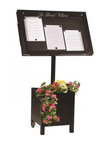 Porte menu Provence 3 pgs + pied 004020